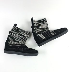 Toms Black Suede Nepal Boot H6514871